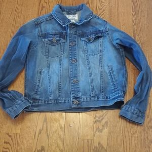 Childrens Place girls jean jacket size 10/13